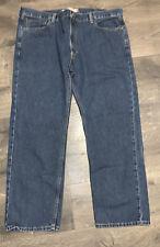 Levi's 505 Men's Straight Fit Jean, 42W X 30L - Medium Stonewash
