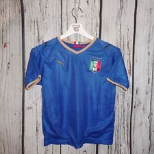 Kids Puma Italy home soccer jersey Euro 2008 size M