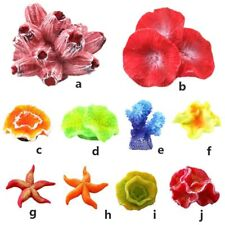 Aquarium Coral Decoration Fish Tank Water Plant Decor Ornaments Artificial Grass