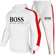 Herren Hoodies Full Trainingsanzug Set Tops Hosen Jogging Gym 2Pcs Sportanzug