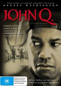 John Q. (DVD, Region 4) Denzel Washington, Anne Heche, James Woods, Ray Liotta