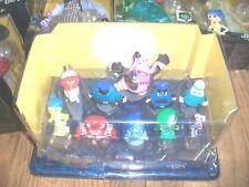 Disney Almacén Del Revés Deluxe 10-piece Figura Set / Toppers para tarta