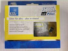+++ ESU 53616 LOKPILOT standard DCC décodeur, plux12 nem658, 4 fonction sorties