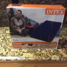 Intex Twin Classic Downey 89x75x8 3/4. New In Box
