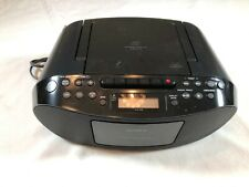 Sony Cfd-S50 Portable Stereo Am/Fm Radio Cd Cassette Tape Player & Recorder
