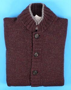 NWT$1975 Brunello Cucinelli Men Alpaca-Cashmere CableKnit Turtleneck50//40US A191