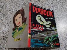 DIABOLIK ANNO IX ORIGINALE N.20 DEL 1970 OTTIMO TIPO KRIMINAL SATANIK KILLING