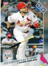 2017 Topps Now     -     YADIER MOLINA     -     St. Louis Cardinals /385   #348