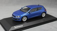 Norev Volkswagen VW Scirocco in Rising Blue Metallic 2008 1K8099300R5Z Dealer Ed