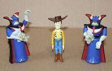2 x DISNEY TOY STORY MCDONALDS FIGURE 2000 EMPEROR ZURG & Woody Figur