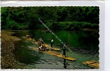 (Ga8643-477) rafting on the Rio Grande, Port Antonio, Jamaica 1967 VG+
