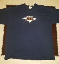 Hard Rock Cafe Blue XL T-Shirt Niagara Falls Cotton Vintage 2008 Made in USA