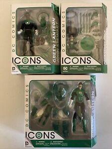 DC Comics ICONS Green Lantern Hal Jordan 09, John Stewart 15, Accessory Pack 01