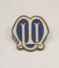 Vintage MU Mothers Union Enamel Pin Brooch Badge