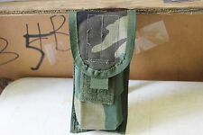 M16 M4 AR-15 Magazine Pouch Woodland (BDU) Camo set 2 (Two) MOLLE II Double NEW