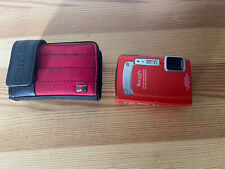 Olympus Tough TG-320 14.0MP Digital Camera - New Battery - No Charger - Case
