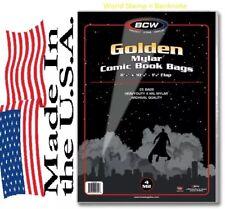 Pack of 25 Bags BCW Golden Comic Mylar Archivals - 4 Mil. 8 1/4 x 10 1/2 (#CS95)