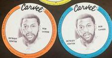 BOB LANIER - 1975 CARVEL DISCS (Lot of 2 different) - DETROIT PISTONS