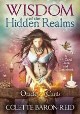 Wisdom of the Hidden Realms Oracle Cards 9781401923426 by Colette Baron-Reid