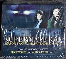 Supernatural Season 2 Sealed Box Pieceworks inkworks Autograph Auto Trading Card