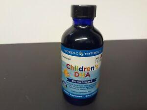 Nordic Naturals Children's DHA Liquid Omega-3 DHA Oil for ages 1-6, 4 fl oz
