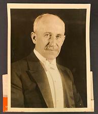 1920's Orville Wright Vintage 1 Press Photo Iconic Pioneer Aviator Underwood