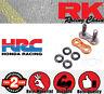 RK Connection Link - Rivet Link - Hollow - ORANGE 520GXW for Aprilia SXV