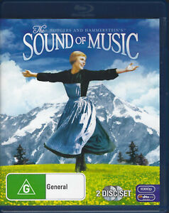 THE SOUND OF MUSIC Blu Ray 2-Disc Edition (2011) *Julie Andrews*