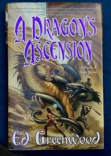 A Dragon's Ascension  Ed Greenwood (2002, Hardcover, First Print) Signed