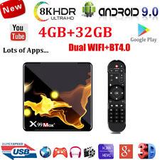 X99MAX+ Android 9.0 mirino Quad Core Smart TV Box Wifi 4K 3D Film HDMI media player