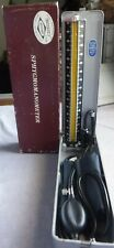 VTG Clayton Sphygmomanometer Model 100 Marshall Cuff Box Japan Blood Pressure NM