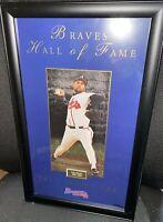 "REDUCED Atlanta Braves, ""JOHN SMOLTZ"", Framed #769/950 Braves 2012 Hall Of Fame"