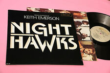 KEITH EMERSON LP NIGHTHAWKS ORIG 1981 EX+ HALF SPEED MASTERED TOP AUDIOFILI GIMM