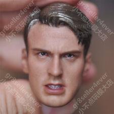 "custom 1/6 scale The Avengers Captain America Steve Rogers head sculpt fit 12"""