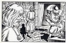 LE FOU DU ROI MAGNIFIQUE DESSIN ORIGINAL AREDIT (dessin No 8) BRANTONNE ?