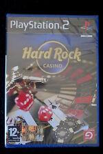 PS2 : HARD ROCK CASINO - Nuovo, sigillato ! Oltre 20 diversi giochi !