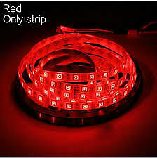 5M 2835 RGB LED Strip Light 300 LEDs DC 12V  Red Flexible SMD 2835 LED Diode Rib
