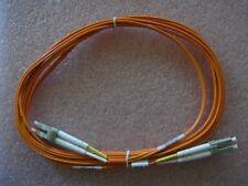 10pcs FIBER OPTIC CABLE LC/LC 3M DUPLEX LC-LC 10 FT