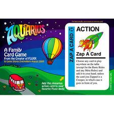 Fluxx: Zap-A-Card Promo Postcard