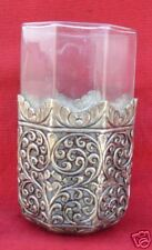 HANDMADE STERLING SILVER GLASS OR CUP INDIA