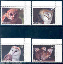 NIUAFO'OU  2012  'OWLS '  SET MINT NH THESE HAVE EXTREMELY HIGH FACE VALUE