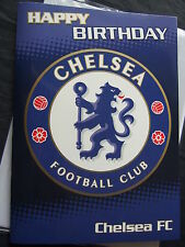 OFFICIAL~ CHELSEA FOOTBALL CLUB ~ Birthday, Blank or Father's Day Card etc.
