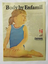 1970 Magazine Advertisement Page For Enfamil Ready To Use Infant Formula Kids Ad