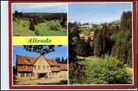 DDR AK ALLRODE Kr. Quedlinburg ua. Bungalow-Siedlung Ferienheim Luppbodemühle