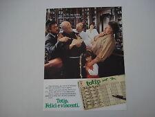 advertising Pubblicità 1982 TOTIP