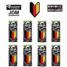 8 Packs Wakaba Treefrog Young Leaf New Car X Scent German Flag Jdm Air Freshener