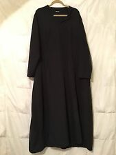 Women's one piece ABBAYA MIDDLEASTERN ARABIC TRADITIONAL OUTFIT Black Plus size