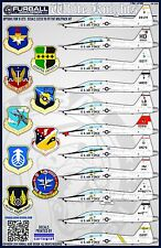 """1/48 Furball T-38A """"White Knights"""" decals for the Wolfpack Kit"""