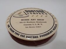 Norie Art Shop Duotone Phonograph Celluloid Record Duster Brush - Long Island NY