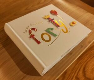 Forty 40th Birthday Photo Album by Talking Pictures 3D Letters Gift Present